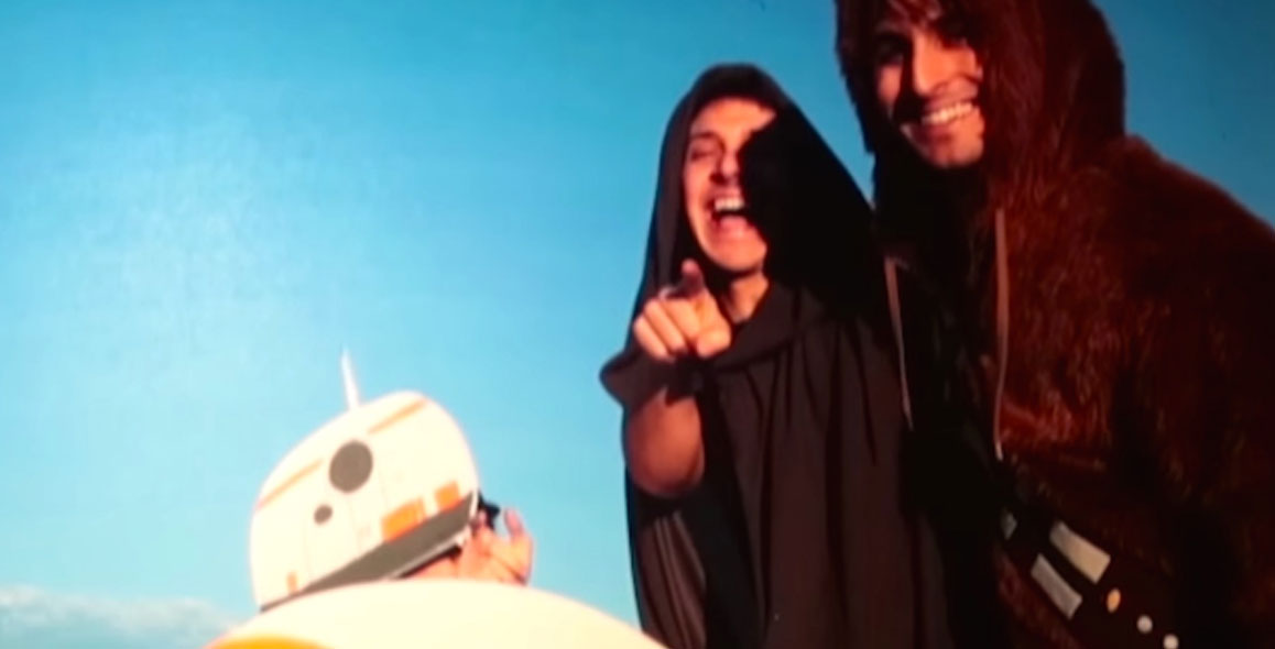 Friends Trick SuperFan With Star Wars Early Screening Prank