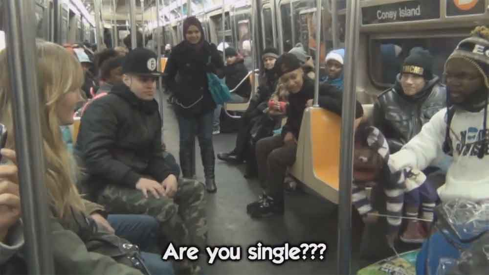 This Ventriloquist Has Perfected the Art of Picking Up Girls on the Subway