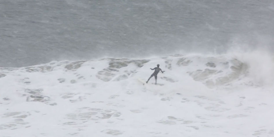 Breathtaking Video of Montauk Locals Surfing in the Blizzard