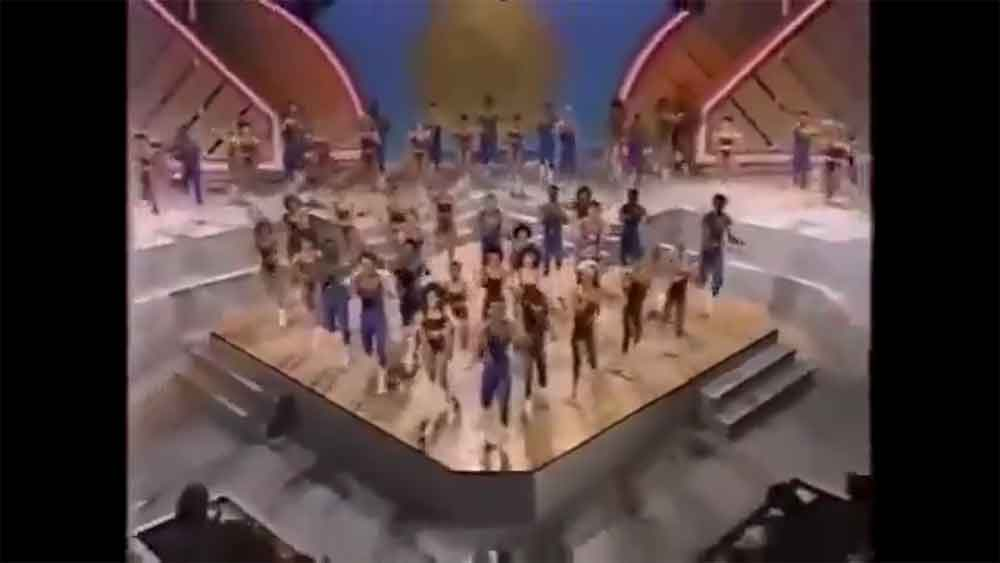 Shake it Off is Perfect for this '80s Aerobics Championship Video