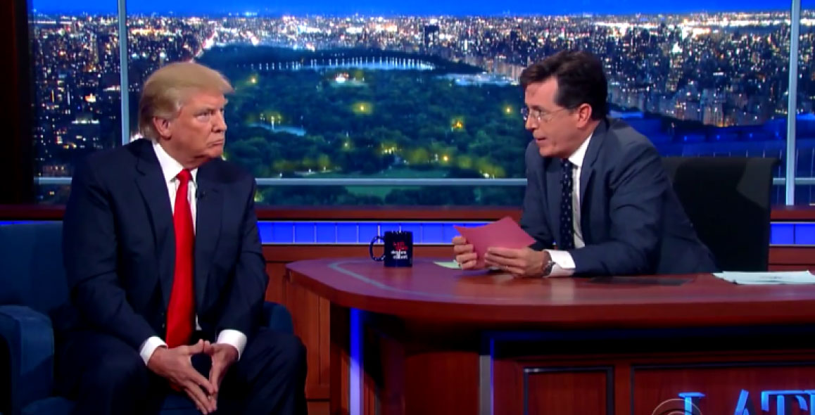 Who Said It: Trump or Colbert?