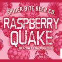Spider Bite Beer Co. Unveils Raspberry Quake Label, Double Bottle Release This Saturday